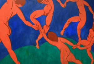 """Dance"" by Henri Matisse, The Hermitage, St Petersburg [photograph by the author]"